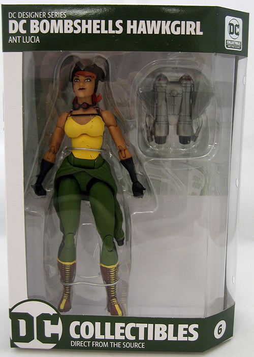 DC Collectibles Bombshells Series Hawkgirl Action Figure #6 - Action Figure Warehouse Australia | Comic Collectables