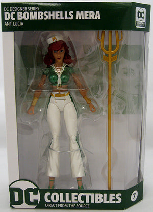 DC Collectibles Bombshells Series Mera Action Figure #7 - Action Figure Warehouse Australia | Comic Collectables