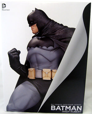 DC Batman Black and White Designer Series Andy Kubert Batman 12 Inch Statue - Action Figure Warehouse Australia | Comic Collectables