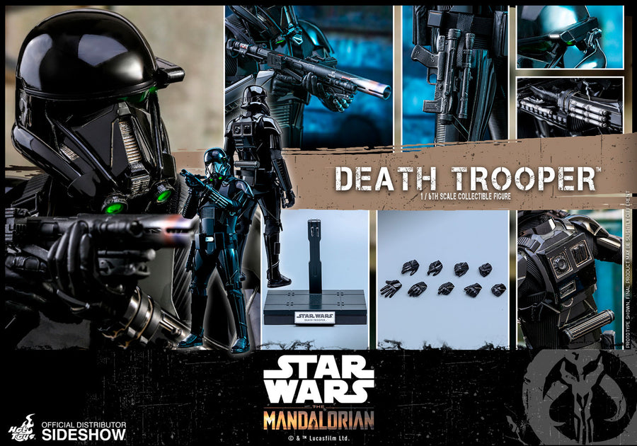 Star Wars Hot Toys The Mandalorian Death Trooper 1:6 Scale Action Figure HOTTMS013 Pre-Order