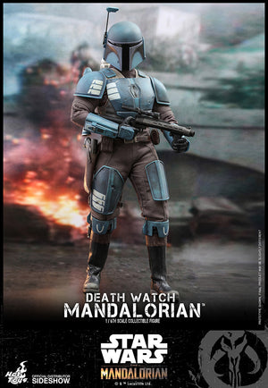Star Wars Hot Toys Death Watch Mandalorian 1:6 Scale Action Figure TMS026 Pre-Order