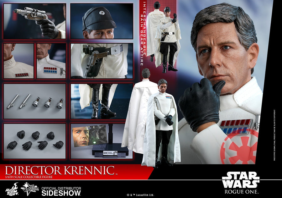 Star Wars Hot Toys Rogue One Director Krennic 1:6 Scale Action Figure HOTMMS519 Pre-Order