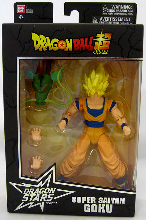 DragonBall Super Bandai Dragon Stars Series Super Saiyan Goku Action Figure #1 - Action Figure Warehouse Australia | Comic Collectables