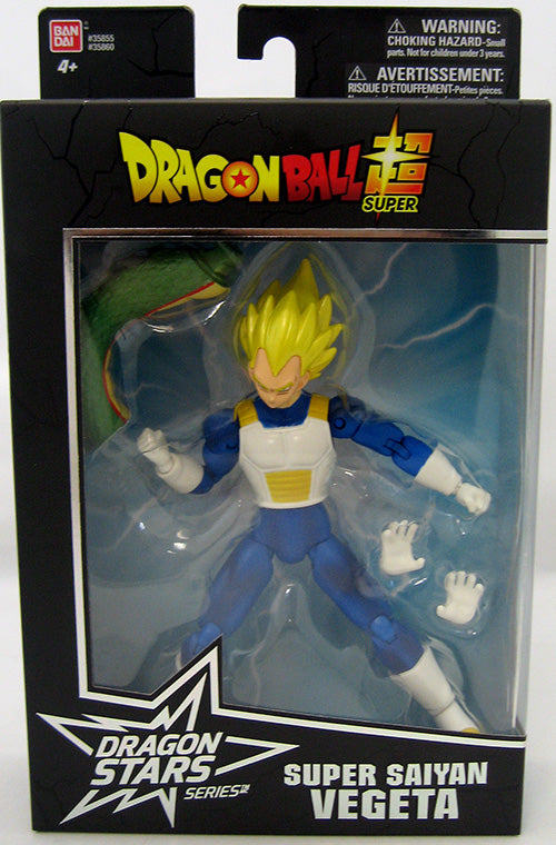 DragonBall Super Bandai Dragon Stars Series Super Saiyan Vegeta Action Figure #4 - Action Figure Warehouse Australia | Comic Collectables