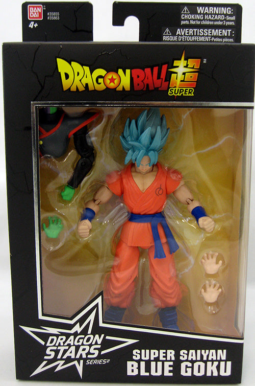 DragonBall Super Bandai Dragon Stars Series Super Saiyan Blue Goku Action Figure #2 - Action Figure Warehouse Australia | Comic Collectables