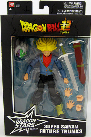 DragonBall Super Bandai Dragon Stars Series Super Saiyan Future Trunks Action Figure #1 - Action Figure Warehouse Australia | Comic Collectables