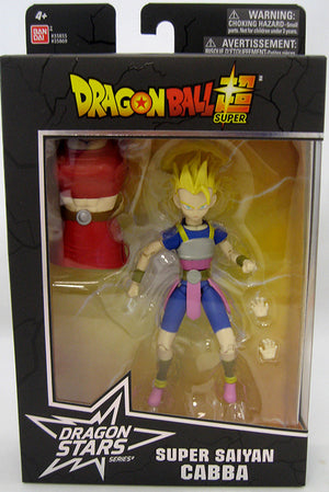 DragonBall Super Bandai Dragon Stars Series Super Saiyan Cabba Action Figure #2 - Action Figure Warehouse Australia | Comic Collectables