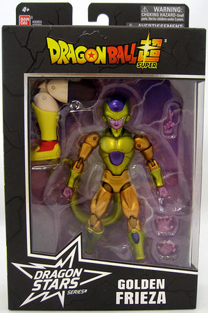 DragonBall Super Bandai Dragon Stars Series Golden Frieza Action Figure #6 - Action Figure Warehouse Australia | Comic Collectables