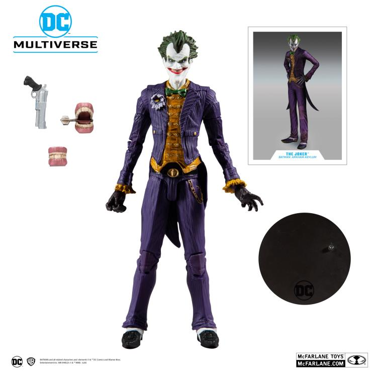 DC Multiverse McFarlane Batman The Joker Arkham Asylum Action Figure Pre-Order