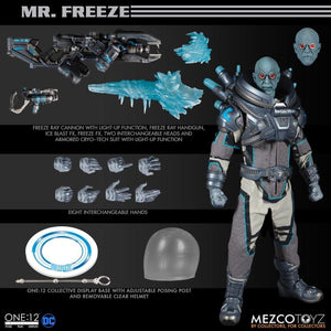 DC Mezco Batman Mr Freeze One:12 Scale Action Figure Pre-Order