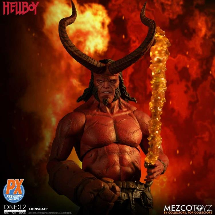 Hellboy Mezco PX Exclusive Hellboy 2019 Anung un Rama One:12 Scale Action Figure Pre-Order