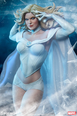 Marvel Sideshow Collectibles X-Men Emma Frost Premium Format 1:4 Scale Statue Pre-Order