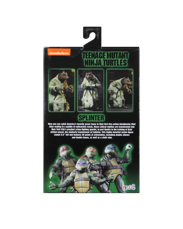 Teenage Mutant Ninja Turtles Neca Splinter Action Figure Pre-Order