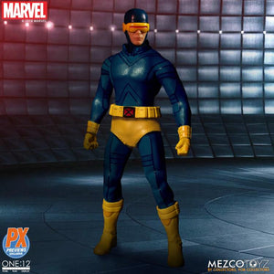 Marvel Mezco PX Exclusive X-Men Cyclops Classic One:12 Scale Action Figure Pre-Order