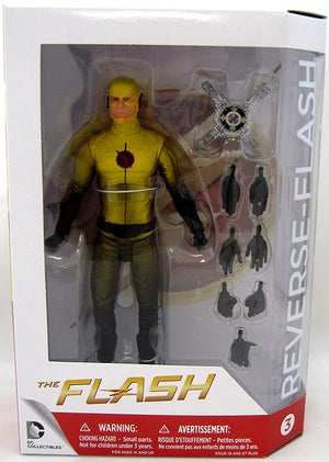 DC The Flash TV Series Reverse Flash Action Figure #3 - Action Figure Warehouse Australia | Comic Collectables