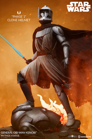Star Wars Sideshow Collectibles General Obi-Wan Kenobi Mythos Statue Pre-Order