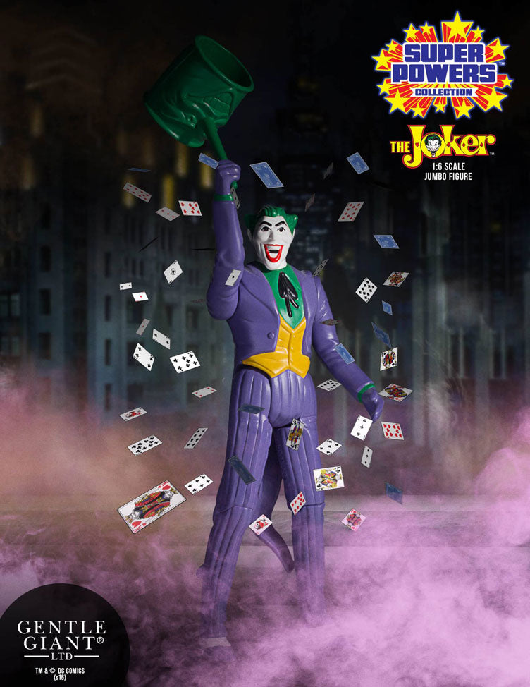 DC Gentle Giant Super Powers Vintage Jumbo Joker Action Figure