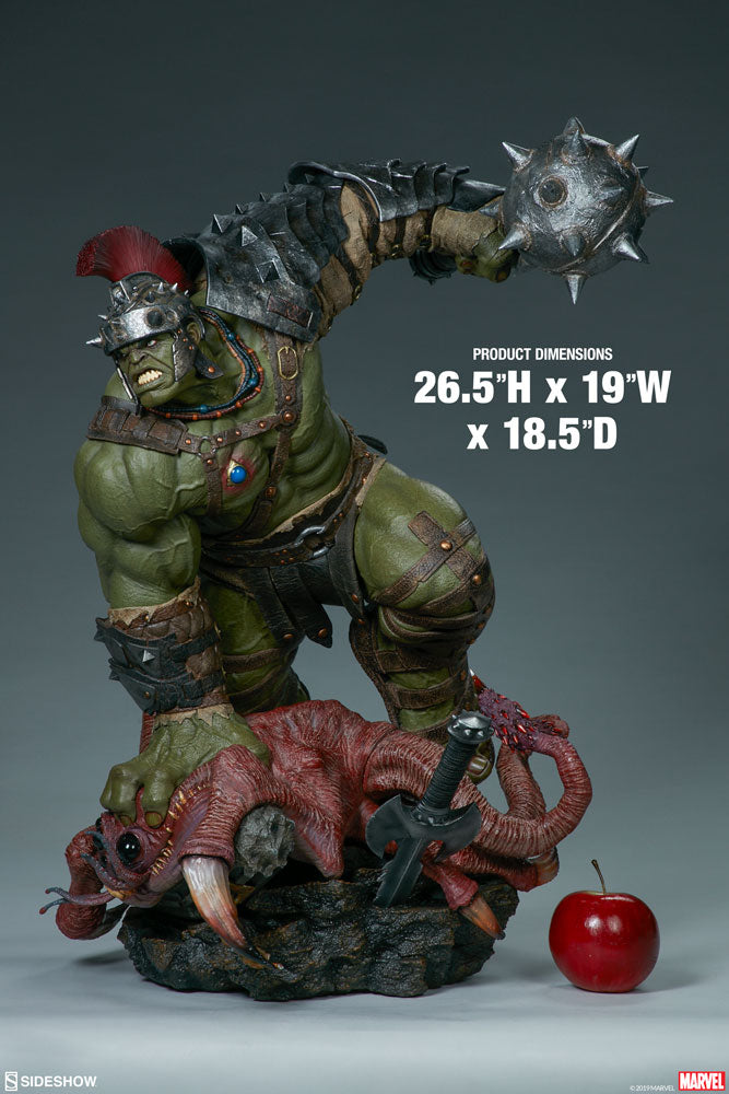 Marvel Sideshow Collectibles Gladiator Hulk Marquette Statue