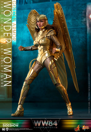 DC Hot Toys Wonder Woman 84 Golden Armor 1:6 Scale Action Figure MMS577 Pre-Order