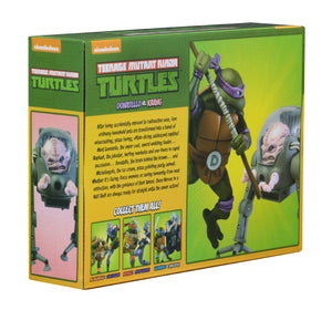 Teenage Mutant Ninja Turtles Neca Donatello vs Krang Action Figure 2-Pack