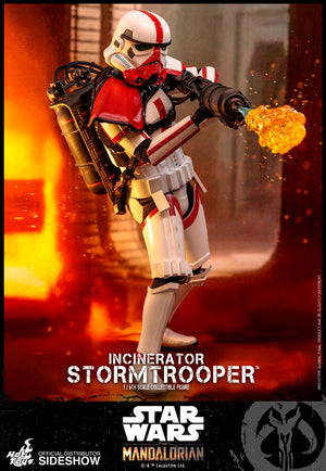 Star Wars Hot Toys The Mandalorian Incinerator Stormtrooper 1:6 Scale Action Figure TMS012 Pre-Order