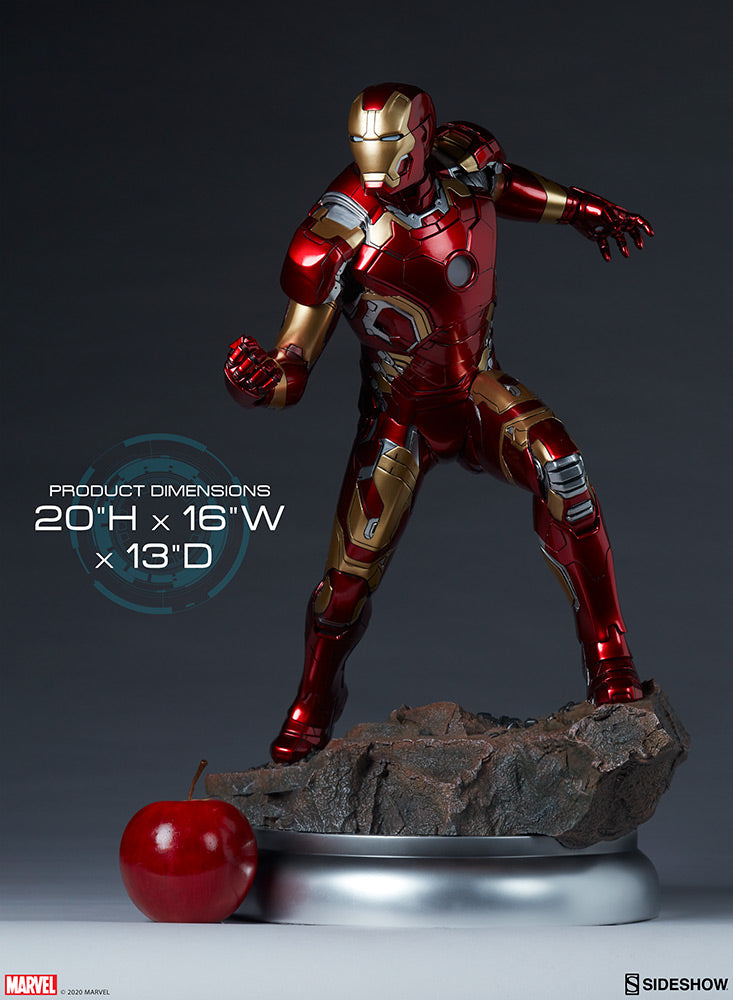 Marvel Sideshow Collectibles Iron Man Mark XLIII Age Of Ultron Maquette Statue Pre-Order