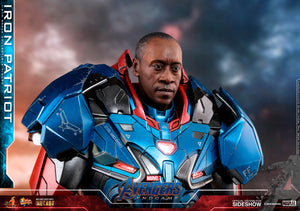 Marvel Hot Toys Avengers Endgame Iron Patriot Diecast 1:6 Scale Action Figure MMS547D34 Pre-Order