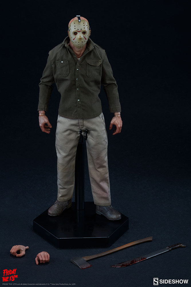 Friday The 13th Sideshow Collectibles Jason Voorhees 1:6 Scale Action Figure Pre-Order