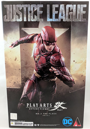 DC Square Enix Play Arts Kai Justice League The Flash Action Figure