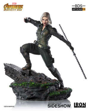 Marvel Iron Studios Infinity War Black Widow 1:10 Scale Statue