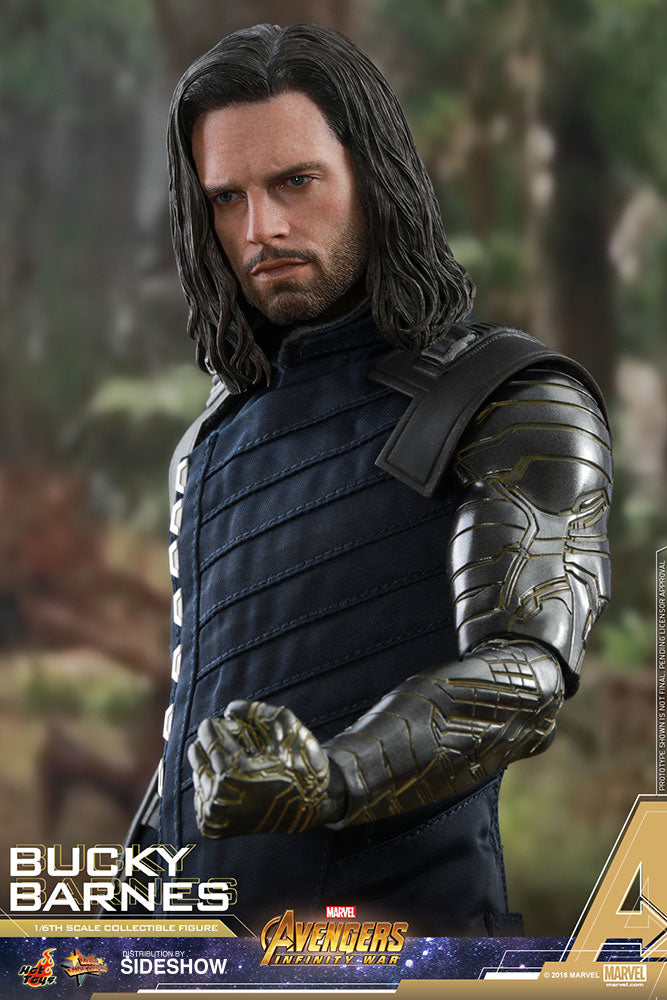 Marvel Hot Toys Infinity War Winter Soldier Bucky Barnes 1:6 Scale Action Figure HOTMMS509 Pre-Order