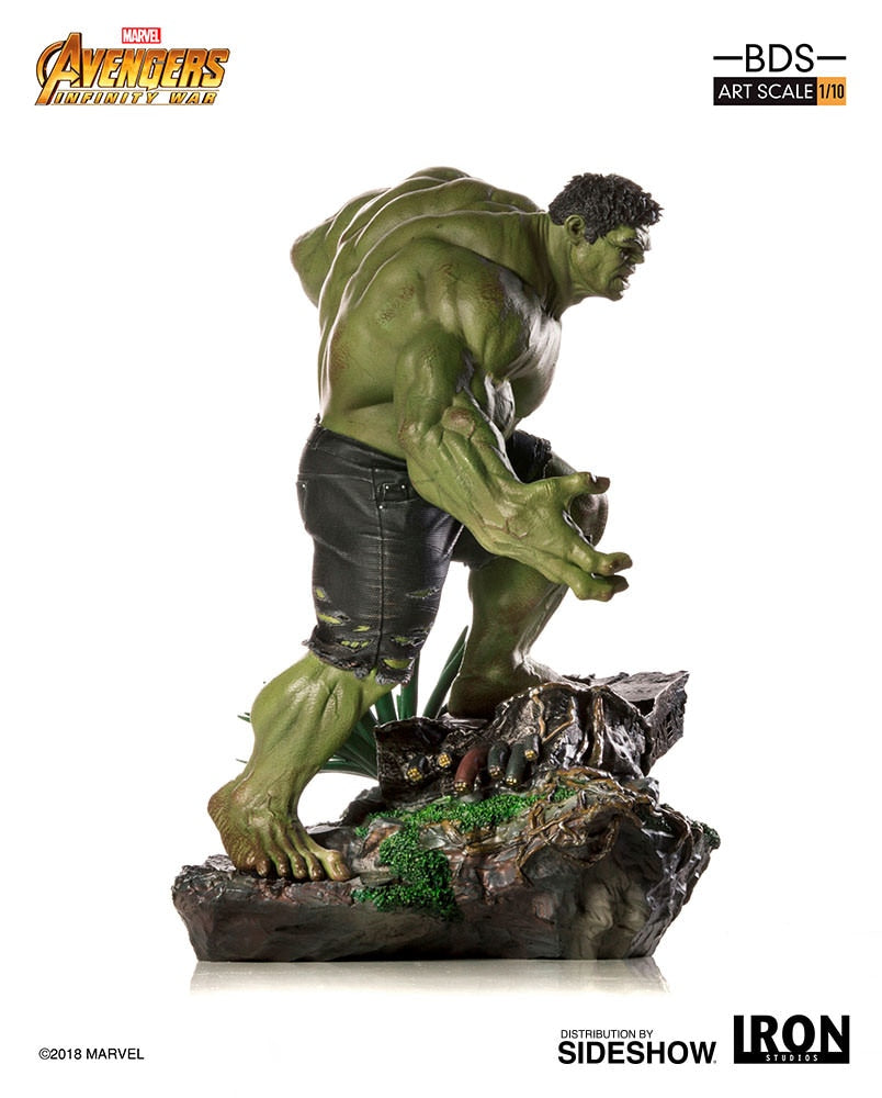 Marvel Iron Studios Infinity War Hulk 1:10 Scale Statue Pre-Order