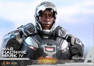 Marvel Hot Toys Infinity War War Machine Mark IV Diecast 1:6 Scale Action Figure HOTMMS499D26