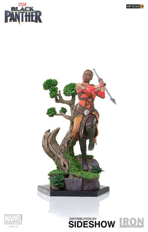 Marvel Iron Studios Black Panther Okoye 1:10 Scale Statue