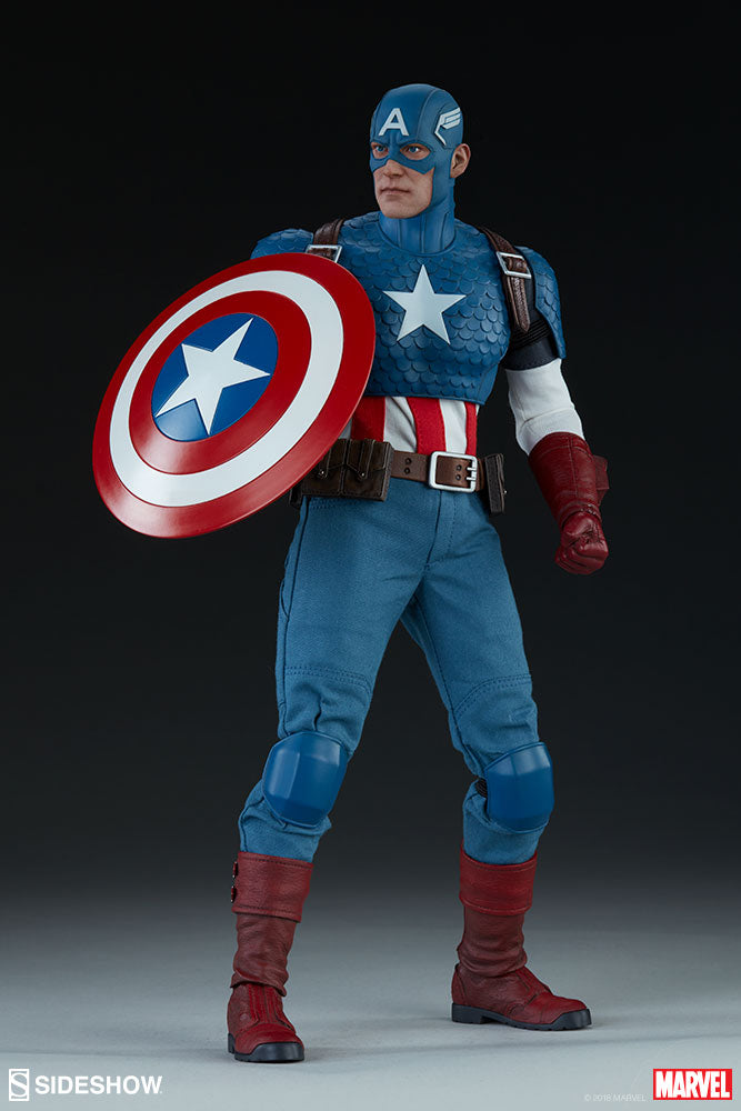 Marvel Sideshow Collectibles Captain America 1:6 Scale Action Figure Pre-Order