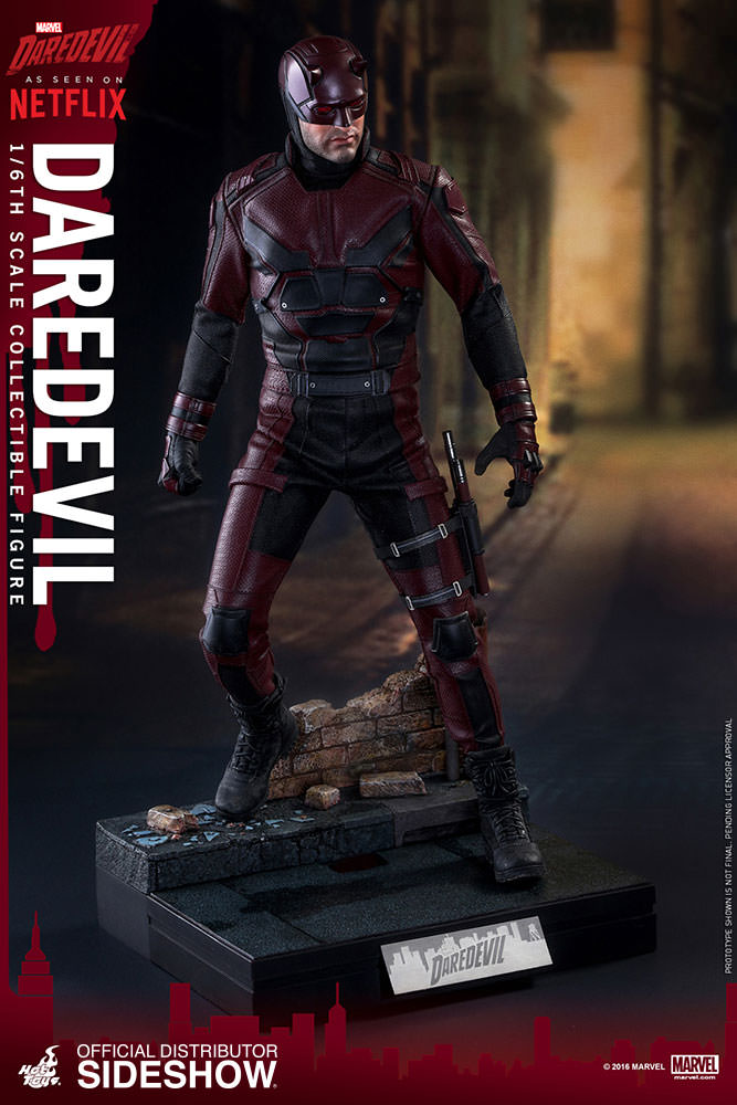 Marvel Hot Toys Netflex Daredevil 1:6 Scale Action Figure HOTMMS003