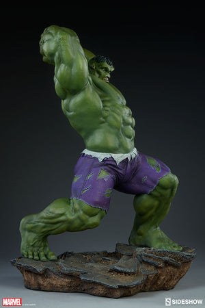 Marvel Sideshow Collectibles Avengers Assemble Hulk Statue