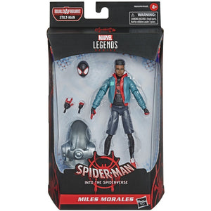 Marvel Legends Spider-Man Into The Spiderverse Series Miles Morales Action Figure