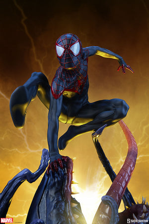 Marvel Sideshow Collectibles Spider-Man Miles Morales Premium Format 1:4 Scale Statue