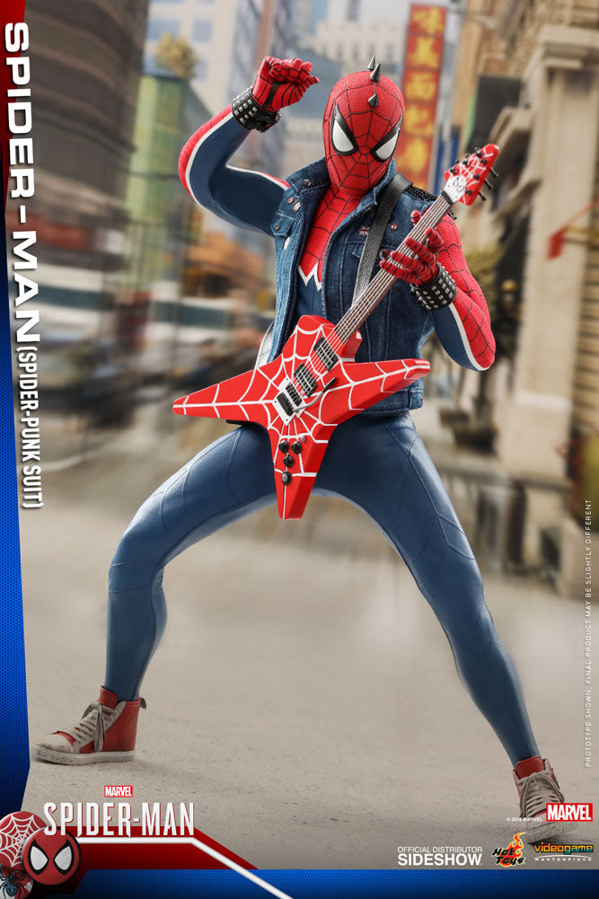 Marvel Hot Toys Spider-Man Spider-Punk Suit 1:6 Scale Action Figure HOTVGM32 Pre-Order