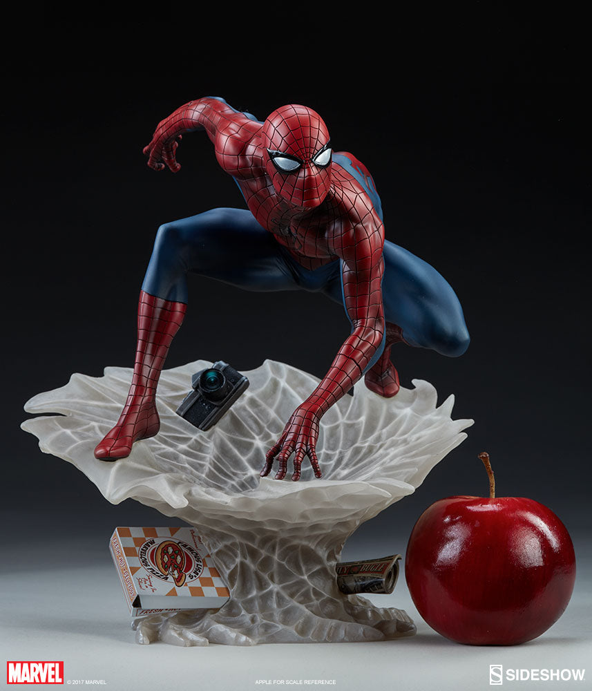 Marvel Sideshow Collectibles Spider-Man Artist Statue Pre-Order