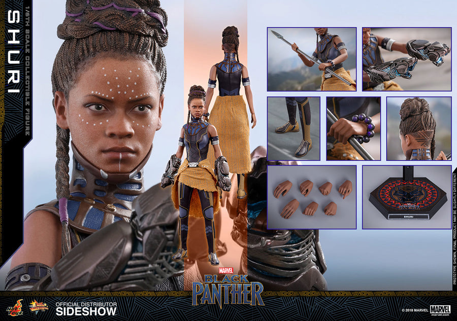 Marvel Hot Toys Black Panther Shuri 1:6 Scale Action Figure HOTMMS501 Pre-Order