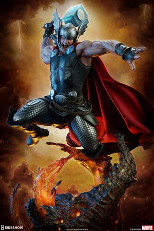 Marvel Sideshow Collectibles Thor Premium Format 1:4 Scale Statue Pre-Order