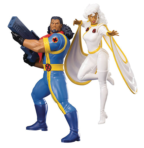Marvel Kotobukiya Artfx X-Men Bishop & Storm Set 1:10 Scale Statue