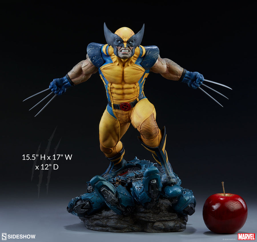 Marvel Sideshow Collectibles X-Men Wolverine Premium Format 1:4 Scale Statue