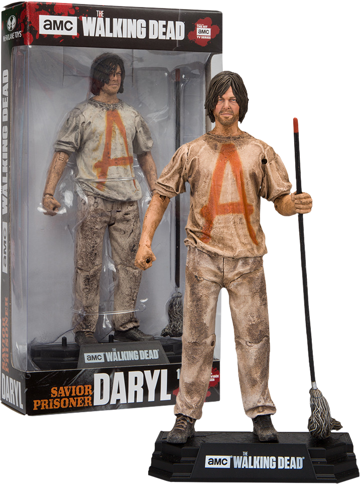 The Walking Dead TV Series Savior Prisoner Daryl 7 Inch Action Figure