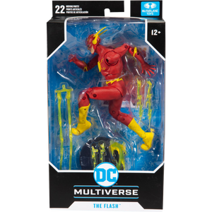 DC Multiverse McFarlane Series The Flash Rebirth Action Figure