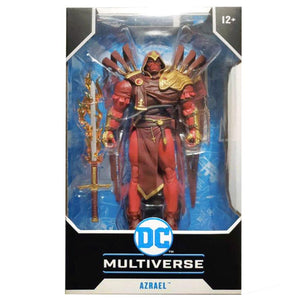 DC Multiverse McFarlane Series Curse Of The White Knight Azrael Action Figure