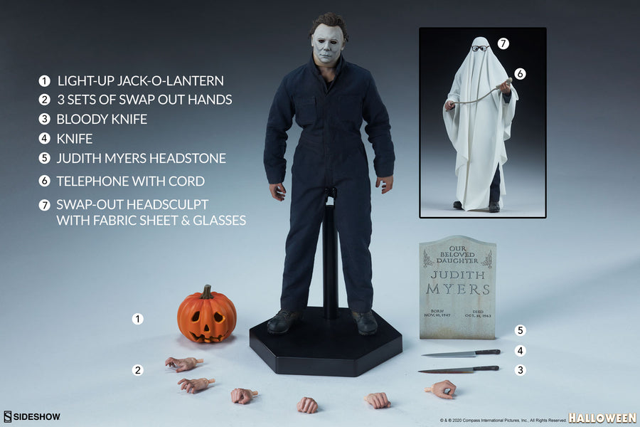 Halloween Sideshow Collectibles Michael Myers 1:6 Scale Action Figure Pre-Order