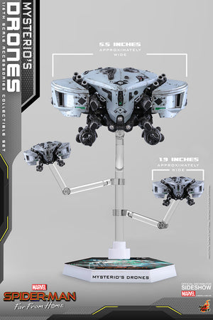Marvel Hot Toys Spider-Man Far From Home Mysterios Drones Set 1:6 Scale Accessory ASC011 Pre-Order
